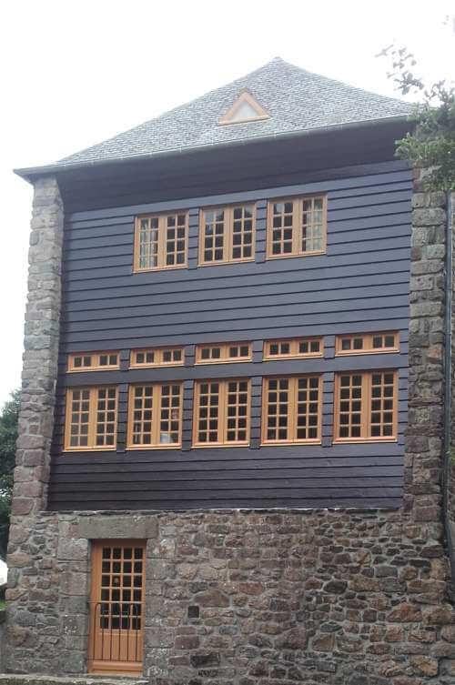 Moulin ancien inscrit au patrimoine national