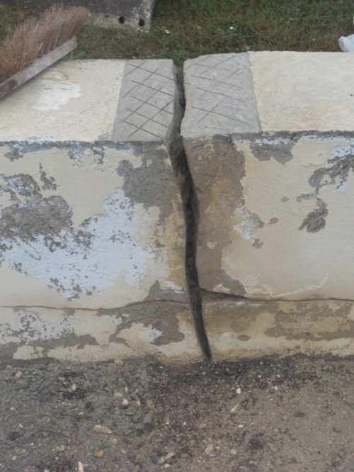 Ravalement d'un muret de pavillon