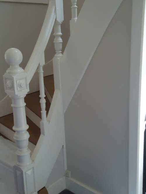 Réfection d'une balustrade d'escalier