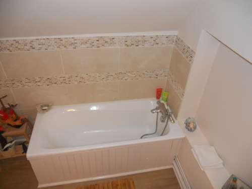 rénovation des sols d'une salle de bain