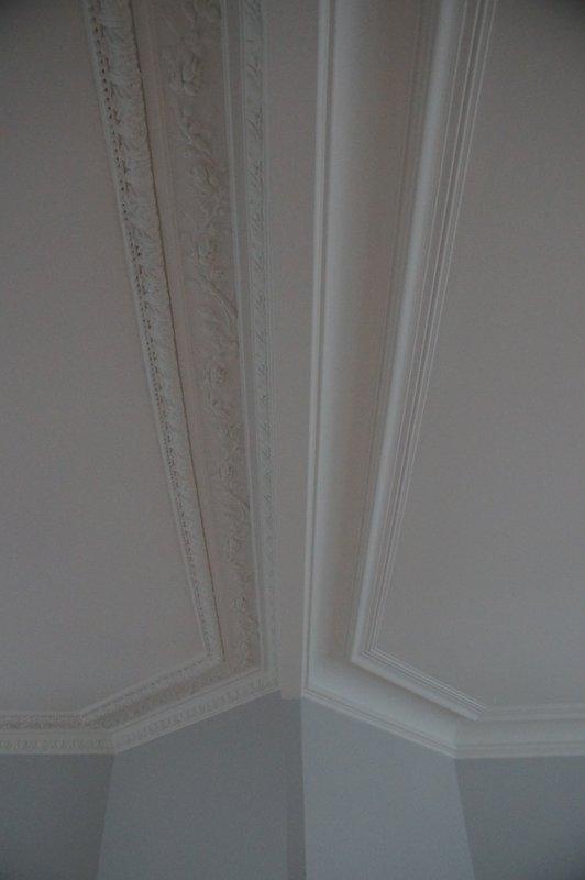 <p>traitement des fissures plafonds-corniches</p>