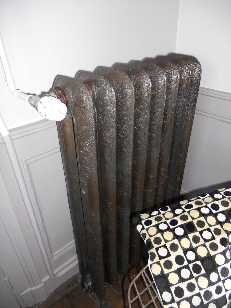 <p>radiateur décapé vernis</p>